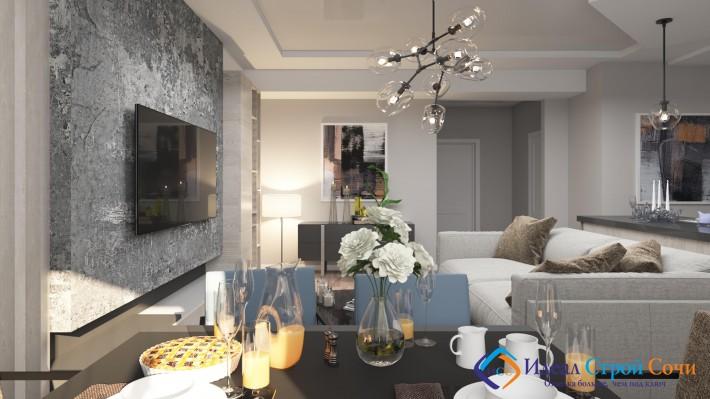 Дизайн квартиры по ул. Санаторная д. 46